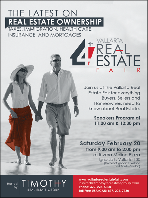 Vallarta Real Estate Fair-poster